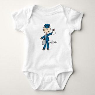 Body Para Bebé Figura del palillo del empleado de correos
