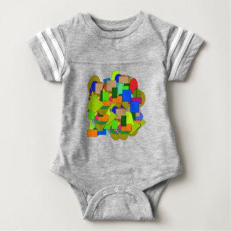 Body Para Bebé figuras geométricas