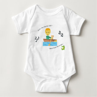 Body Para Bebé Fila linda de la poesía infantil del mono del bebé