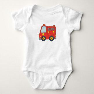 Body Para Bebé Firetruck adaptable lindo