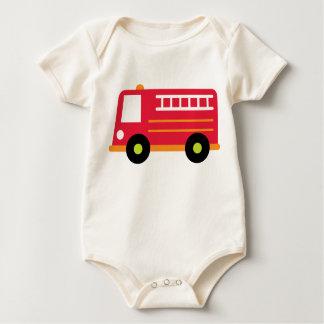 Body Para Bebé Firetruck del bebé