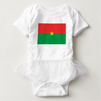 Body Para Bebé flag_burkina_farso