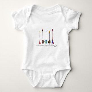 Body Para Bebé Flecha del salmo 91