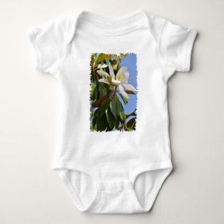 Body Para Bebé Flor de la magnolia grandiflora