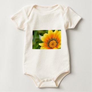 Body Para Bebé Floración amarilla