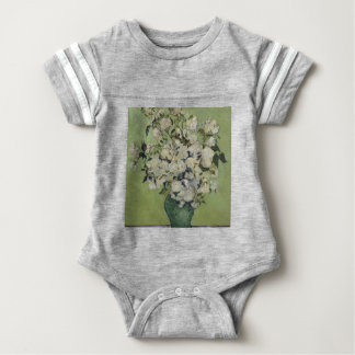 Body Para Bebé Florero de Vincent van Gogh de rosas que pintan