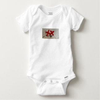 Body Para Bebé Flores rojas