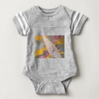 Body Para Bebé Flotación en el vacío del arco iris