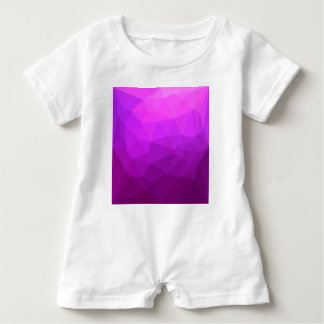 Body Para Bebé Fondo bajo abstracto púrpura bizantino del