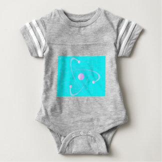 Body Para Bebé Fondo de la estructura de la masa atómica
