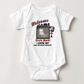 Body Para Bebé Foto de encargo militar casera agradable