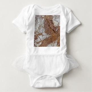 Body Para Bebé Foto macra de la superficie del pan marrón de Ger
