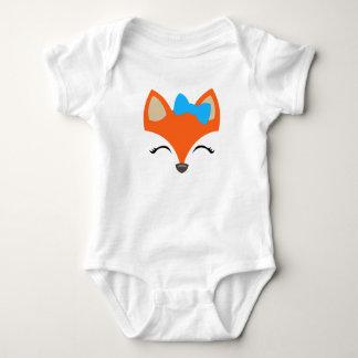 Body Para Bebé Fox con el mono del arco para el bebé