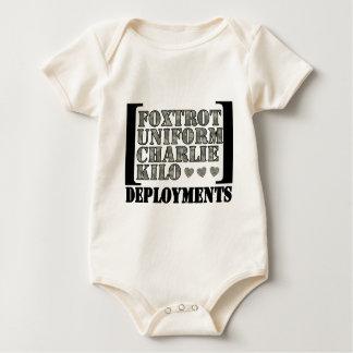 Body Para Bebé Foxtrot los despliegues