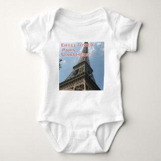 Body Para Bebé Francés del verano 2016 de París Francia de la
