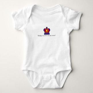 Body Para Bebé Francés-Reina