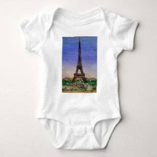 Body Para Bebé Francia-París-Eiffel-torre-ropa