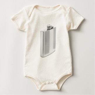 Body Para Bebé Frasco de plata de la cadera
