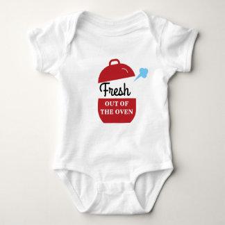 Body Para Bebé Fresco hacia fuera el mono del bebé del horno