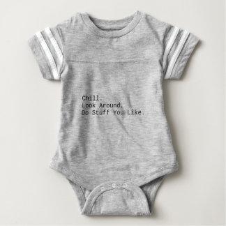 Body Para Bebé Frialdad. Mire alrededor