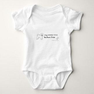 Body Para Bebé frise del bichon