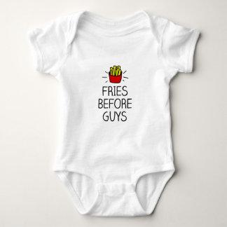 Body Para Bebé fritadas antes de individuos con la mayoría del