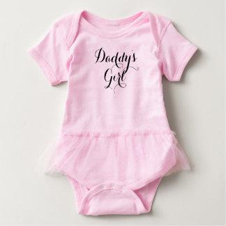 Body Para Bebé Fuente hecha a mano fresca del chica del papá
