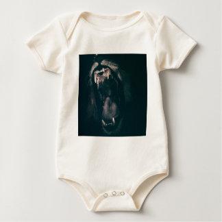 Body Para Bebé Fuerza enojada del rugido del miedo del rugido de