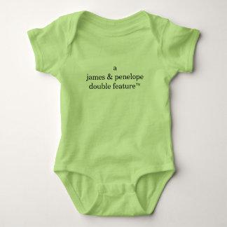 Body Para Bebé Función doble de A (los nombres de los padres