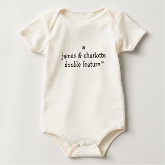 Body Para Bebé Función doble de A (nombres de los padres aquí)