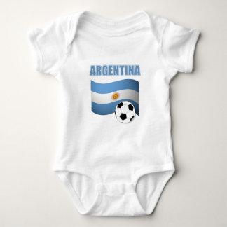 Body Para Bebé Fútbol 1139 de la Argentina