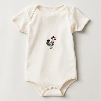 Body Para Bebé gallo de la cola del color sí
