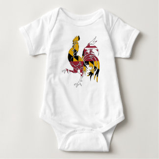 Body Para Bebé Gallo de Maryland