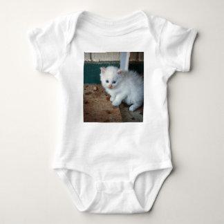 Body Para Bebé Gatito blanco