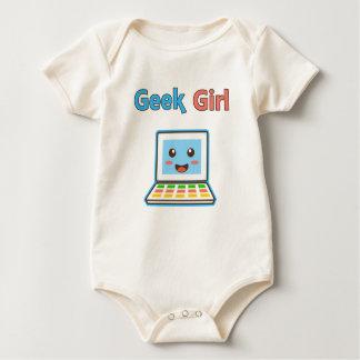 Body Para Bebé Geek Girl