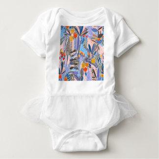 Body Para Bebé Gente del ethno de las flores de los elementos del