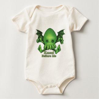 Body Para Bebé Genuflexión linda de Cthulhu Chibi antes de mí