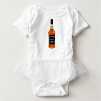 Body Para Bebé Gorra de vaquero con la atadura del dibujo de la