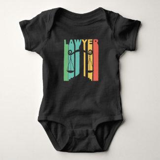Body Para Bebé Gráfico del abogado del vintage