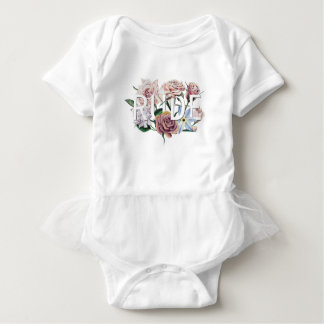 Body Para Bebé Grosero floral