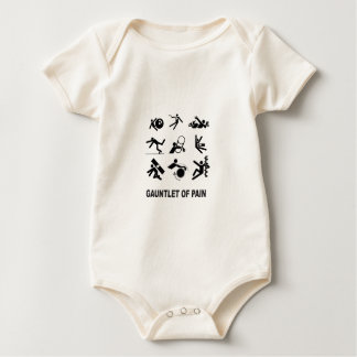 Body Para Bebé guantelete del dolor