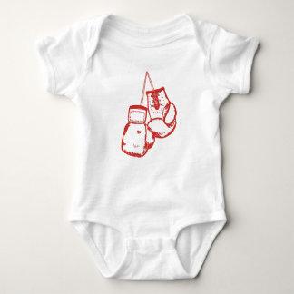 Body Para Bebé Guantes de boxeo