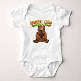 Body Para Bebé Guardabosques Lucas: Bosque de Rosemary - mono del