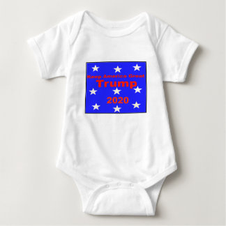 Body Para Bebé Guarde el lema político del triunfo 2020 de