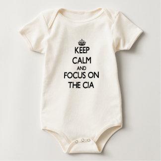 Body Para Bebé Guarde la calma y el foco en la Cia