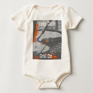 Body Para Bebé Guarde la parrilla tranquila encendido