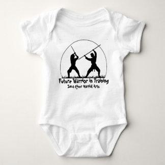 Body Para Bebé Guerrero futuro en el entrenamiento
