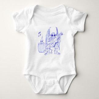 Body Para Bebé Guitarra de Cthulhu