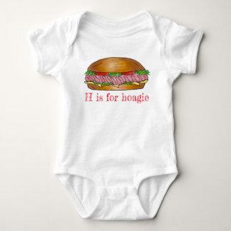 Body Para Bebé H está para el bocadillo Foodie del submarino del