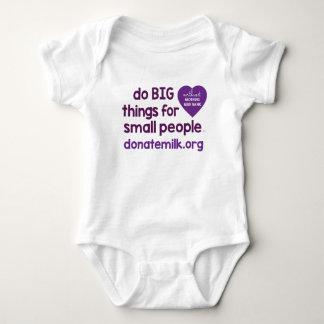 Body Para Bebé haga las cosas GRANDES para la pequeña gente